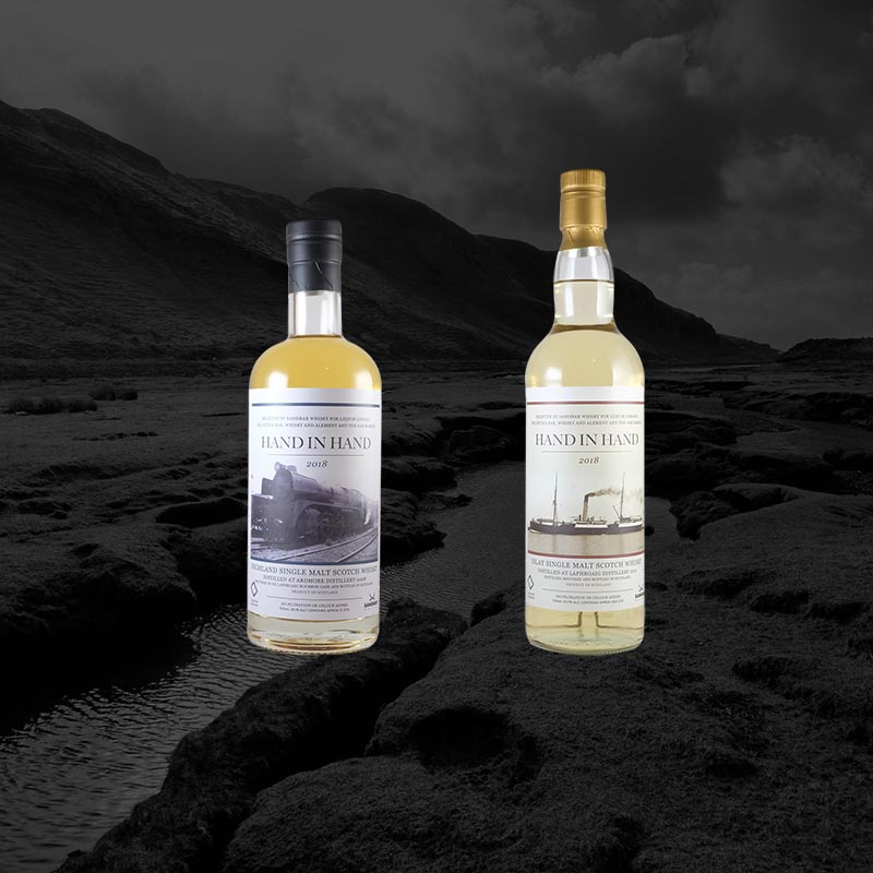 Hand-In-Hand Laphroaig & Ardmore: A New Oak Barrel Collaboration