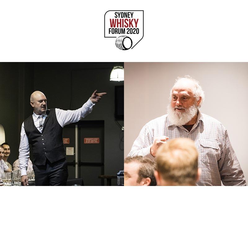 Tim Duckett & Bill Lark On The Future Of Tassie Whisky [Sydney Whisky Forum 2020]