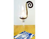 tealight hook in jar, candle holder