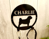 metal dog lead hook wall mounted