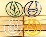 Four Elements Wall Art - Earth, Air, Fire, Water