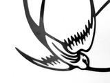 3 Swallows Wall Art
