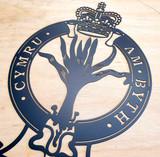 Welsh Guards Crest Wall Art