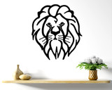 Lion Head Wall Art