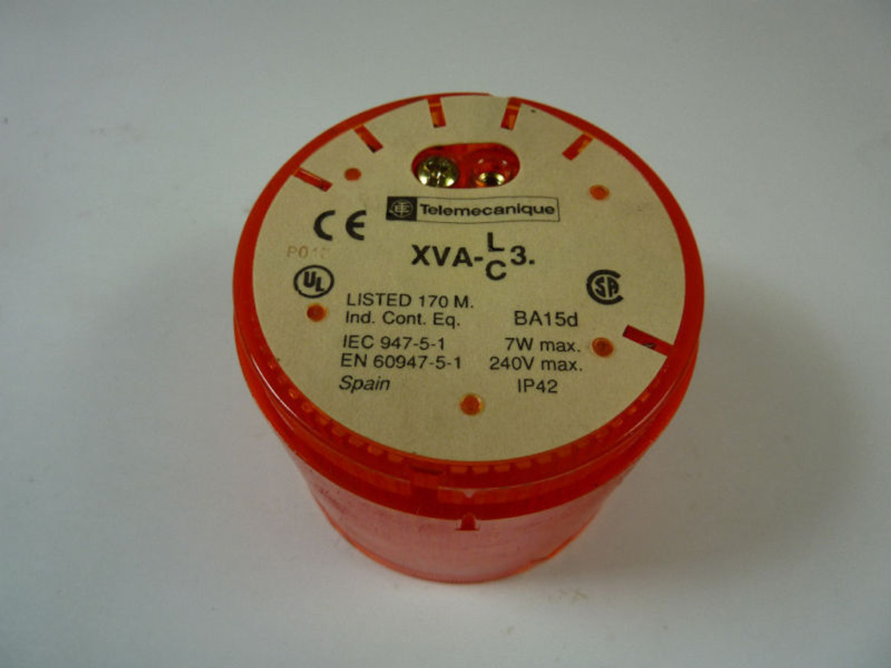 Telemecanique Stackable Indicator Light XVA-C35 220VAC 7W