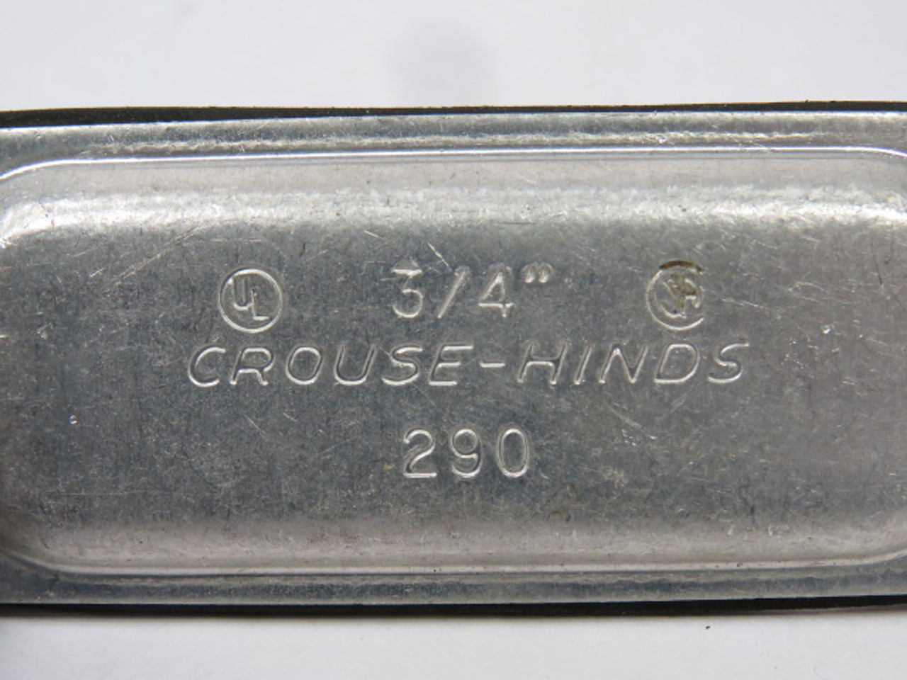 "Crouse /& Hinds #280 Conduit Body Cover 3//4/""  USED"