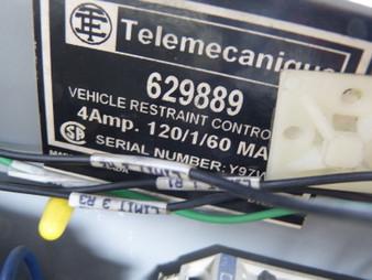Telemecanique 629889 Serco VR250 Vehicle Restraint Control Dock ! AS IS !