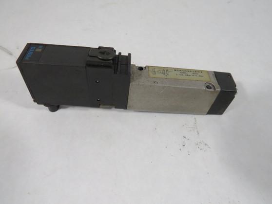 Festo MT2H-5/2-4.0-L-S-VI-B Solenoid Valve 24VDC 0.9-10Bar 4 Pin 5/2 Way ! WOW !