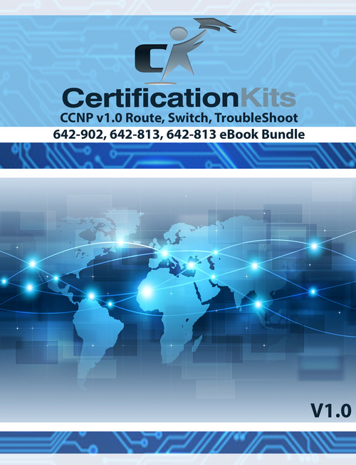 ROUTE SWITCH TSHOOT Boot Camp Study Guide Bundle eBook
