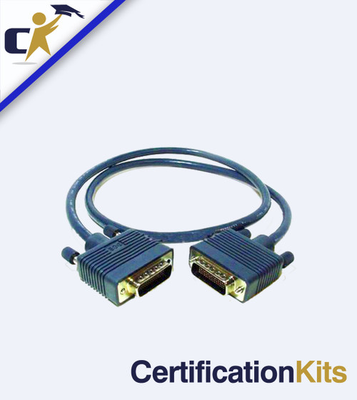 DTE/DCE Back to Back DB60 Crossover Cable