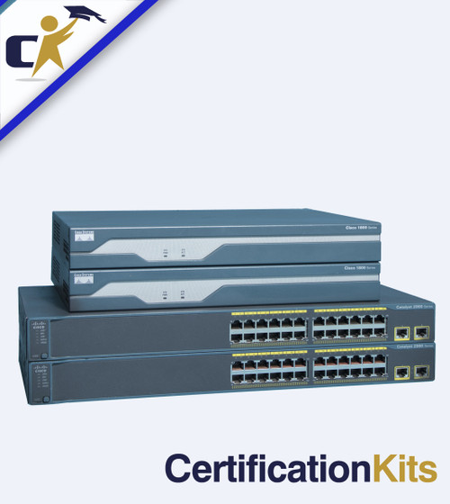 Build Your Own CCNA 2 Router & 2 Switch 200-125 / 200-301 Primed & Ready Lab Kit
