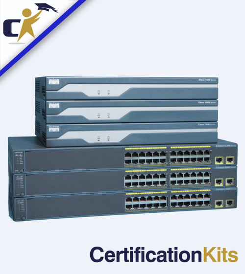 Build Your Own CCNA 3 Router & 3 Switch 200-125 / 200-301 Primed & Ready Lab Kit