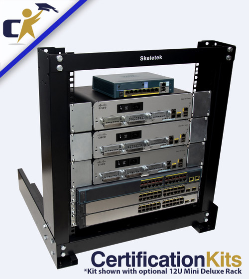 Cisco CCNA Security 210-260 and Network Security Essentials G2 Titanium Kit