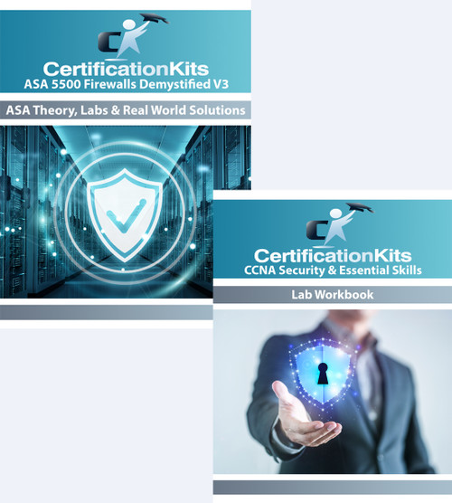CCNA Security & Essential SKills / ASA 5500 eWorkbook Bundle Pack