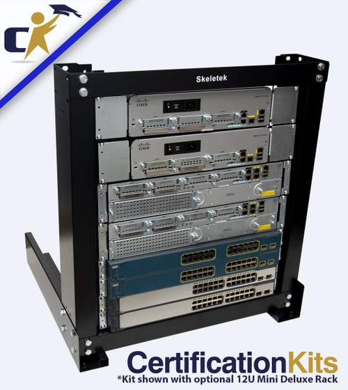 Cisco CCNA & CCNP Primed & Ready G2 Titanium Kit