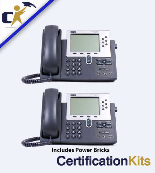 Two Cisco IP Phone Pack