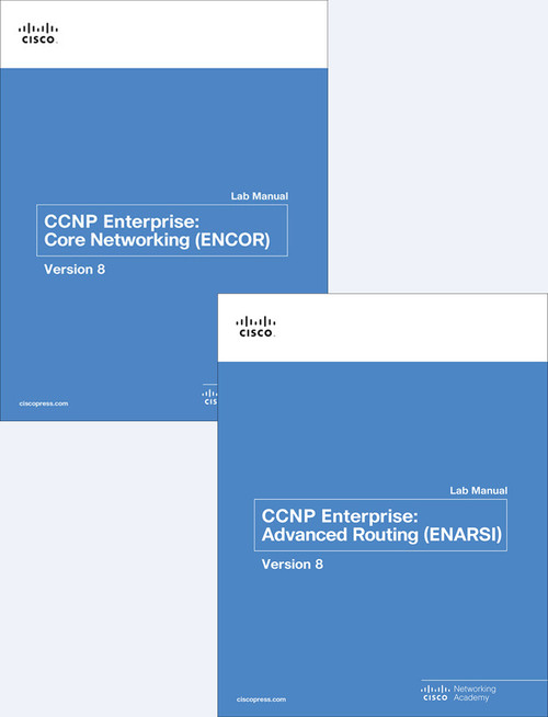 CCNP Enterprise ENCOR & ENARSI Bundle