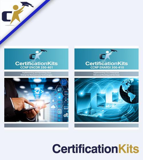 CertificationKits CCNP Enterprise ENCORE & ENARSI Bundle