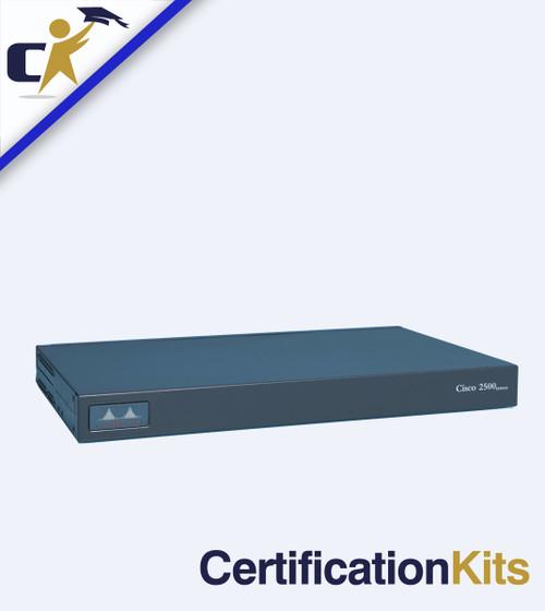Cisco 2509 16/16 Terminal Server Router Kit