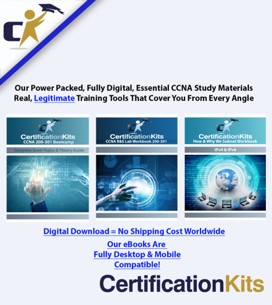 CCNA 200-301 Digital Essentials Bundle