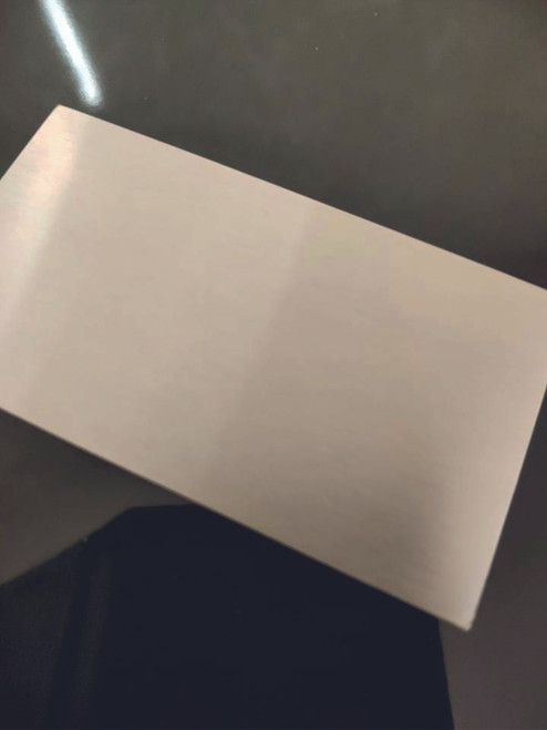 100 x 75 x 1.2mm Stainless Steel Blank