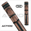 Action 2/4 Oval Pool Cue Case
