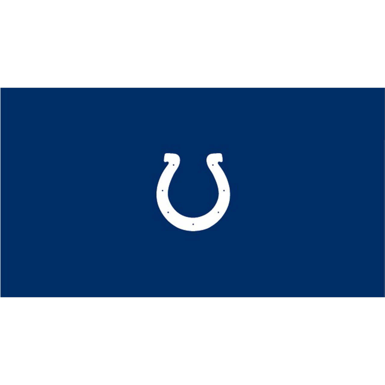 Indianapolis Colts 8 Foot Pool Table Cloth