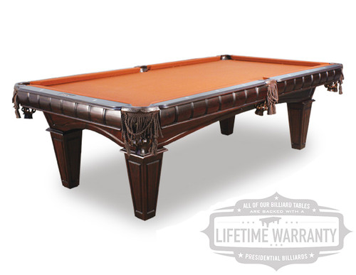 New Pool Tables For Sale, Presidential Billiards Kruger Pool Table, Pool Table Chicago, Slate Pool Table