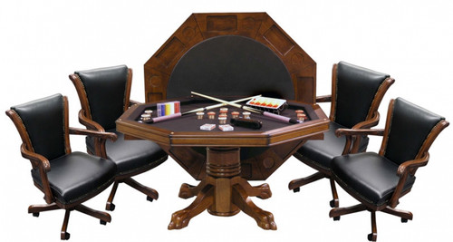 CL Bailey Hybrid Level Best 3-in-1 Combo Table with 4 Winslow Chairs (Winslow Chairs no longer available)