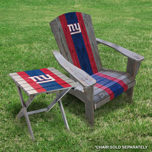 Terrific New York Giants Adirondack Folding Table Ocoug Best Dining Table And Chair Ideas Images Ocougorg