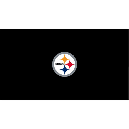 Pittsburgh Steelers 8 Foot Pool Table Cloth