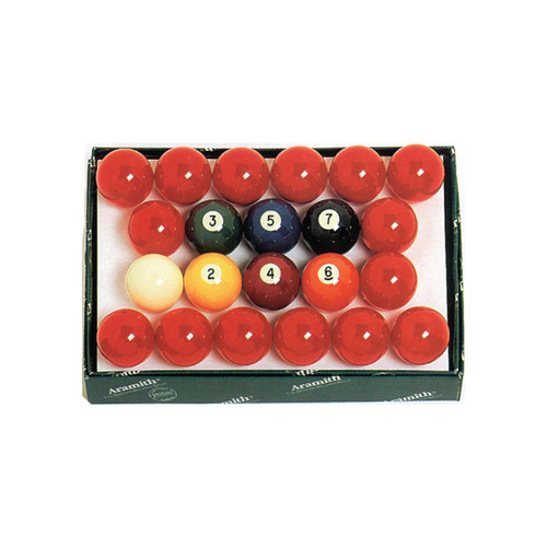Aramith 2-1/4 in Snooker Ball Set