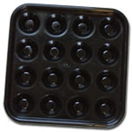 Black Plastic Ball Tray