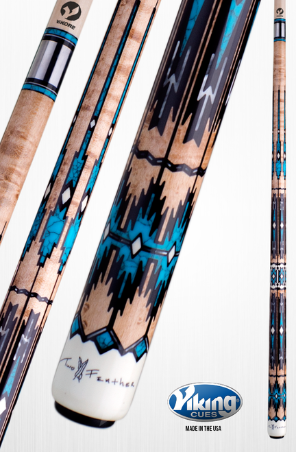 Viking Heirloom Series TF-WLF Pool Cue