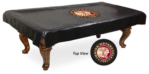 Indian Motorcycle Billiard Table Cover