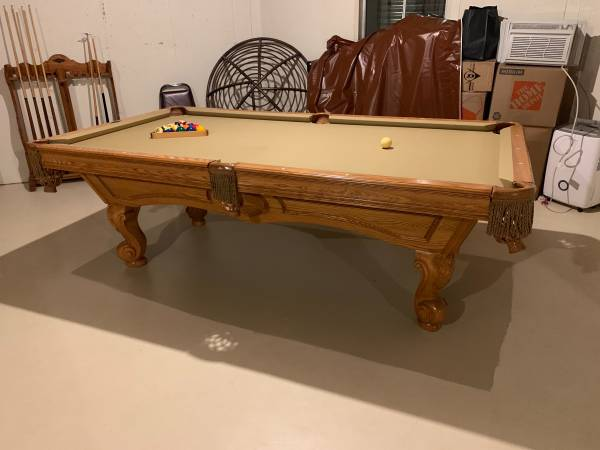 Sold Used Pool Tables