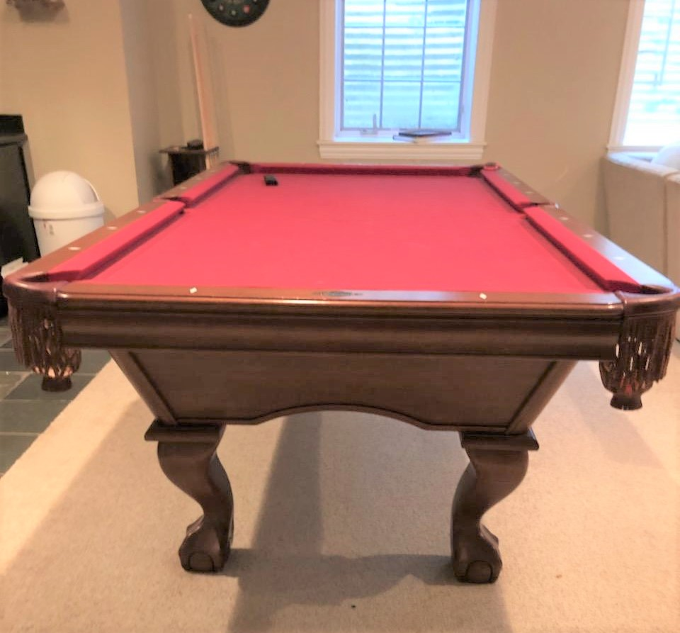 Brunswick Used Pool Tables >> Used 8 Foot Pool Tables For Sale