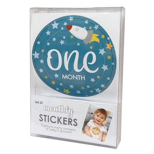 Boy Monthly Photo Sets Sticker