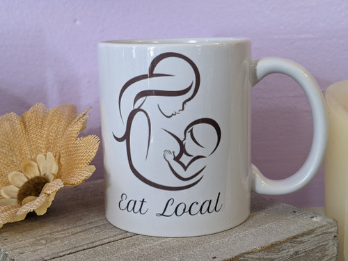 Eat Local Breastfeeding Mug