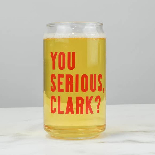 You serious Clark? Can Glass