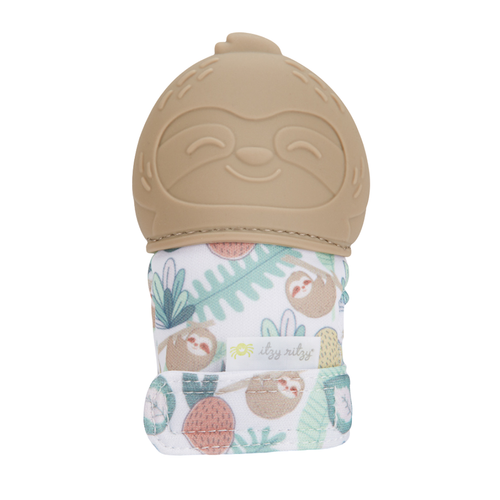 Sloth Itzy Mitt™ Silicone Teething Mitts