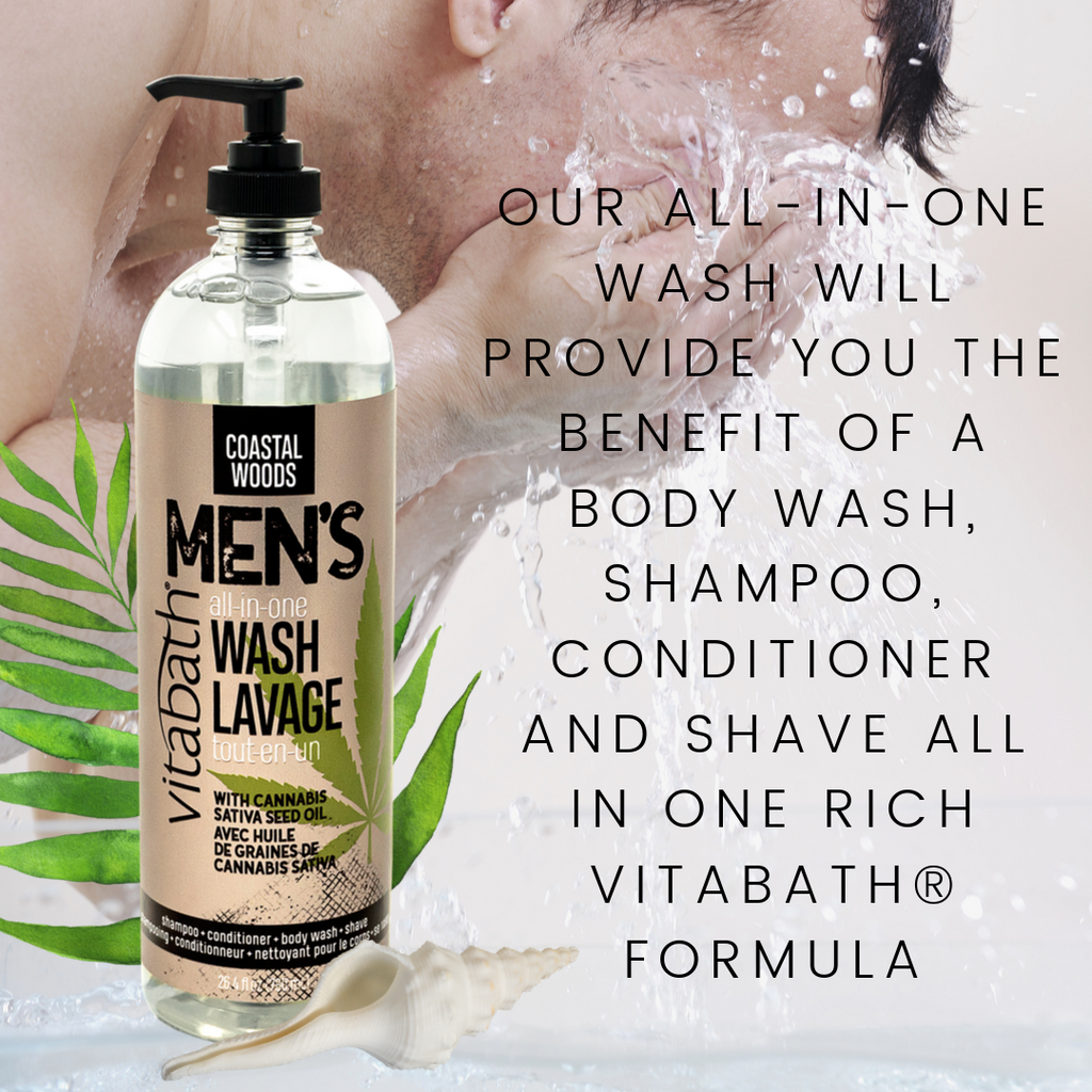 Gifts for Men — All-in-One Body Wash — Vitabath