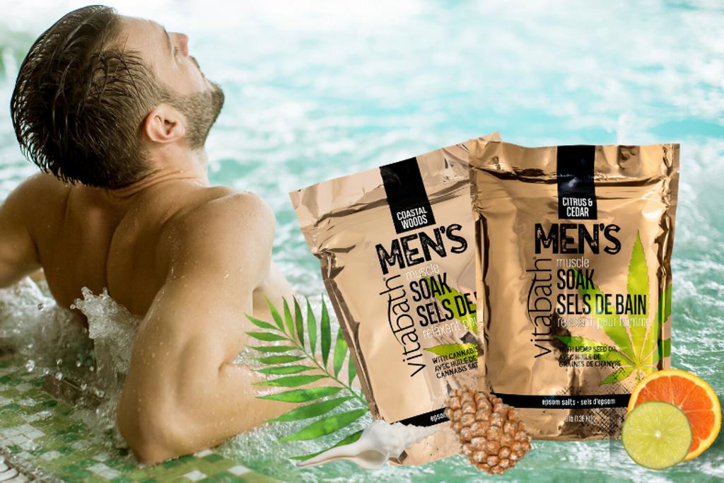 Unique Gifts for Men — Muscle Soak — Vitabath
