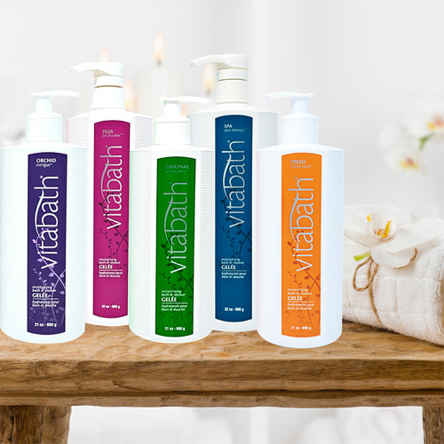 Plus for Dry Skin™ Bath & Shower Gelée 32 oz/900 g