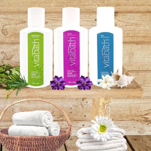 Plus for Dry Skin™ Gallon Bath & Shower Gelée 128 oz/3.36 Kg