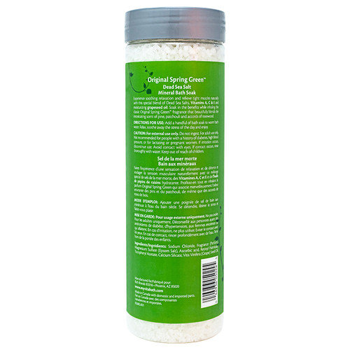 Original Spring Green™ Mineral Bath Soak 27 oz/756 g