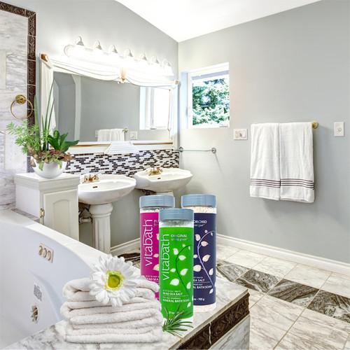 Orchid Intrigue™ Mineral Bath Soak 27 oz/756 g