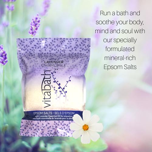 Lavender Chamomile Epsom Salts 36 oz/1 Kg