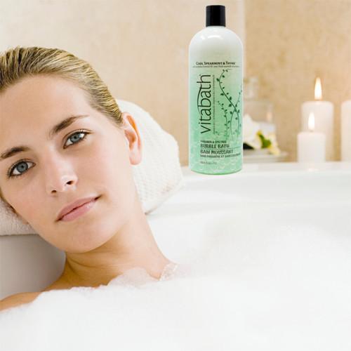 Cool Spearmint & Thyme™ Bubble Bath 33.8 fl oz/1L