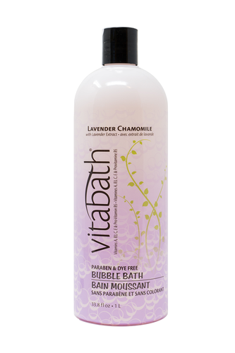 Lavender Chamomile Bubble Bath 33.8 fl oz/1L